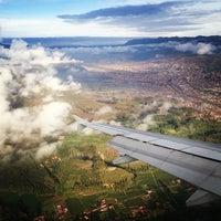 Photo taken at Alejandro Velasco Astete International Airport (CUZ) by Andrew D. on 12/20/2012