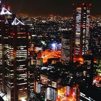 Photo taken at North Observatory, Tokyo Metropolitan Government Building by naomi a. on 1/7/2013