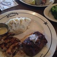 Photo taken at Saltgrass Steak House by Ruben R. on 5/9/2014