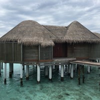 Photo taken at Water Villa 45 by Sabine V. on 12/21/2017