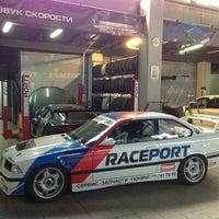 Снимок сделан в Raceport пользователем Georgii D. 5/14/2014