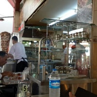 Photo taken at Ucarlar Kebap Salonu by Ahmet U. on 6/19/2014