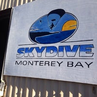 Photo taken at Skydive Monterey Bay by Cody G. on 12/9/2013