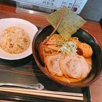 Photo taken at 手打ちらーめん まるとく by keratin on 7/26/2018