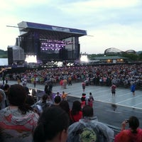 Photo taken at Hersheypark Stadium by Dustin P. on 7/28/2013