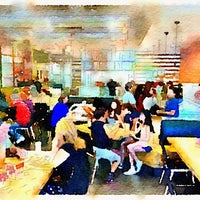 Photo taken at PizzaRev by Jeff T. on 5/28/2014