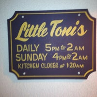Photo taken at Little Toni's by Lia N. on 5/20/2013