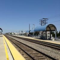 Photo taken at Metrolink Burbank-Bob Hope Airport Station by Lia N. on 5/27/2013