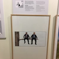 Photo taken at Dansk Plakatmuseum by Kim G. on 12/3/2017