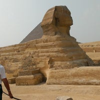 Photo taken at Great Sphinx of Giza by Vladimir D. on 5/3/2013