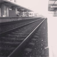 Photo taken at Estação Ferroviária de Moscavide by Sara A. on 12/6/2013