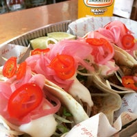Photo taken at El Taco Truck Taqueria by Pete F. on 7/15/2015