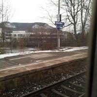 Das Foto wurde bei Bahnhof Jena West von Elijah K. am 12/6/2013 aufgenommen