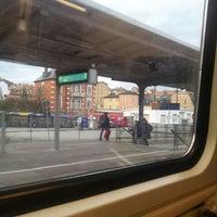Das Foto wurde bei Bahnhof Jena West von Elijah K. am 12/24/2013 aufgenommen