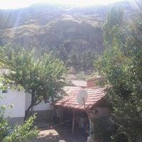 Photo taken at bahçem, koltuğum, kitabım by Ömer D. on 9/11/2014