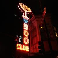 Photo taken at 500 Club by Jen F. on 11/22/2012