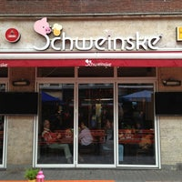 Photo taken at Schweinske by Nicole M. on 5/22/2013