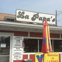 Photo taken at La Papas by Michael Walsh A. on 8/5/2014