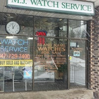 Photo taken at MJ Watch Service by Michael Walsh A. on 2/13/2014