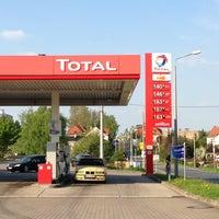 Photo taken at TOTAL Tankstelle by Ralf N. on 5/5/2013