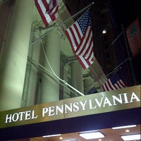 Photo taken at Hotel Pennsylvania by Ralf N. on 12/7/2012