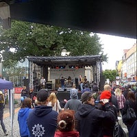 Photo taken at Stadtfest Riesa by Ralf N. on 9/15/2012