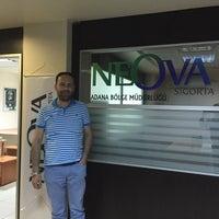 Photo taken at Neova Sigorta Adana Bölge Müdürlüğü by Bülent B. on 6/17/2015