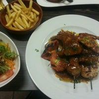 Photo taken at Reyna Restaurant by Ajda C. on 9/19/2014