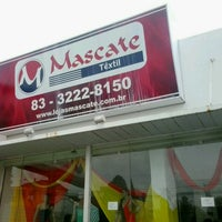 Photo taken at Mascate Malhas Textil by Jardileide #. on 1/30/2014