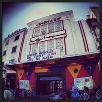 Photo taken at Cinémathèque de Tanger - Cinéma Rif by CONDE on 9/20/2013
