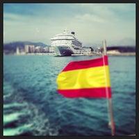 Foto tomada en Puerto de Málaga por CONDE el 5/11/2013