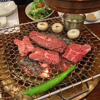 Photo taken at Korean Barbeque Restaurant by Dimitris K. on 3/31/2014