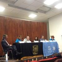 """Photo taken at UNAM Auditorio """"Mario de la Cueva"""" by Orumi M. on 11/15/2017"""