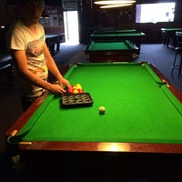 Photo taken at Potters Pool Hall by AnNi3 on 1/4/2014