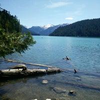Photo taken at Cheakamus Lake by April D. on 7/29/2015