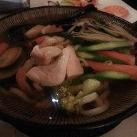 Photo taken at Genji Japanese Restaurant by Alice Junghyun L. on 1/30/2014