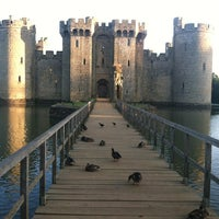 Photo taken at Bodiam Castle by Jacquie S. on 8/20/2013