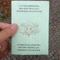 Photo taken at Botschaft Der Republik Lettland by Daria T. on 8/11/2013