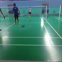 Photo taken at Pro One Badminton Centre by Rafiq R. on 2/10/2017