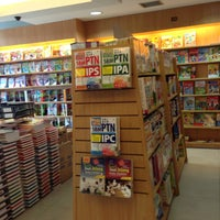 Photo taken at Gramedia by Veronica K. on 4/13/2013
