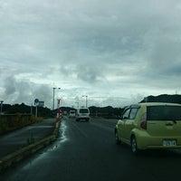 Photo taken at 岩瀬橋 by aqua on 9/25/2014
