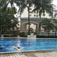 Photo taken at Waterplace Swimming Pool by Misoo__ on 3/28/2016