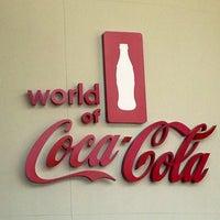 Photo taken at World of Coca-Cola by Jennifer D. on 6/20/2013