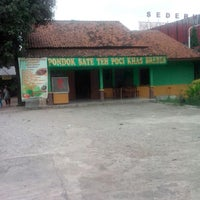 "Photo taken at Pondok Sate Teh Poci ""Amanah"" khas Brebes by Mohammad R. on 12/1/2013"