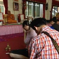 Photo taken at Wat Thep Leela by 🙇อาณาจักร โ. on 3/14/2013