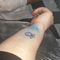 Photo taken at Tattoo Art by Murat Bilek by the e. on 2/21/2014