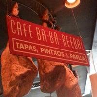 Photo taken at Café Ba-Ba-Reeba! by Manuel S. on 8/14/2013