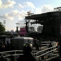 Photo taken at Arena Anhembi by Bruno M. on 11/17/2012