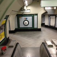 Photo taken at Clapham North London Underground Station by Paulo Marcello(Lelo) D. on 6/15/2013