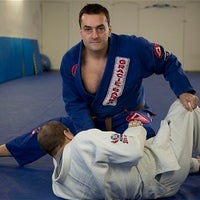 Photo taken at Dyman Judo Club Association & Dyman Karate Associates International by Clement D. on 1/9/2014
